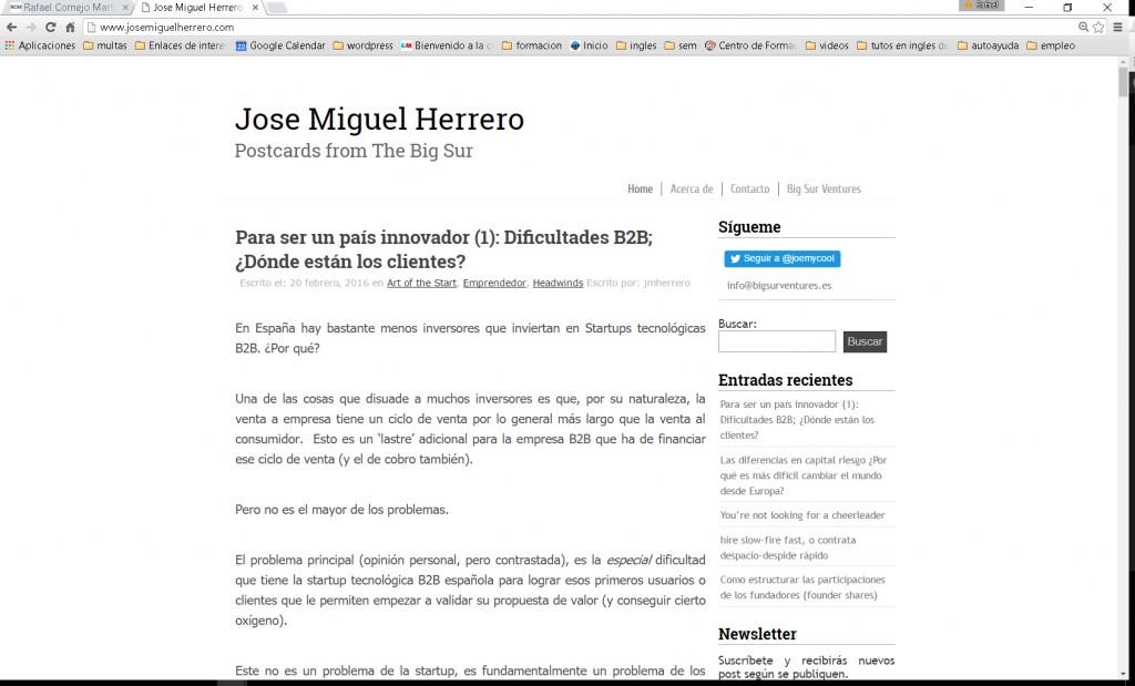 Blog Jose Miguel Herrero